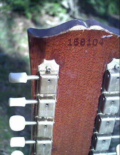 image title is /guitars/Gibson 12-string Serial number indicates 1963