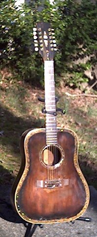 image title is /guitars/Gibson 12-string front view After Bridgeplate repair